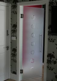 glass doors for bathrooms. Hinged Etched Glass Doors For Bathrooms V