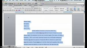 Word Document Mla Format How To Make A Word Document Mla Format