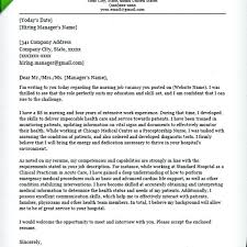 graduate student example cover letters cover letters for nursing students fungram co