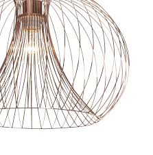 wire lamp shade uk new contemporary modern copper wire ceiling pendant chandelier light shade