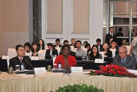 round table conference for international department of sister cities held by foreign affairs office of shenzhen government on the 15th of may 2016