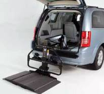 wheelchair lift for van. Bruno Joey (VSL-4000HW) Lifts Store Scooters Or Power Wheelchairs Inside The Back Wheelchair Lift For Van W