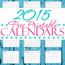Customizable Calendar 2015 Get Your Free Printable 2015 Calendars Here They Are