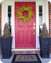 yellow brick house red door. Cheap My New Blue Front Door With Colors For Red Brick Houses Yellow House
