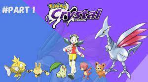 1- Pokemon Crystal - Get first badge , H5 Flash and Egg Togepi