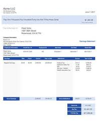 paystub sample paystub sample templates thepaystubs com