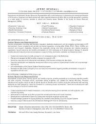 Hr Resume Objective For Fresher Kantosanpo Com