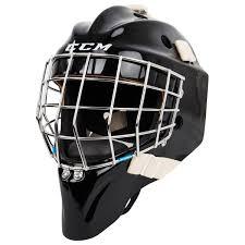 ccm pro senior certified straight bar goalie mask 17 model