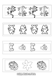 Bookmark Coloring Pages How To Craft Cute Animal Bookmarks Coloring Page Hellokids Com