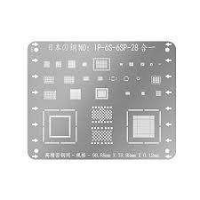 High Precision 0.12MM Multi-Purpose <b>BGA Reballing Stencil</b> ...