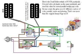 the jimmy page scheme and other ideas for four push pulls deaf eddie s new and improved four push pull scheme and the tone chart