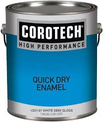 Corotech V231 80 Quick Dry Enamel Semi Gloss Black