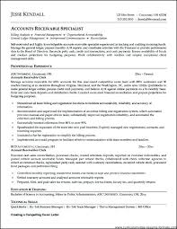 Accounts Receivable Resume Template Inspiration Administrative Assistant Resume Template Pdf Clerical Sample