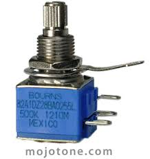 bourns model ka guitar potentiometer