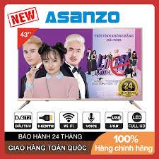 Smart Tivi Asanzo 43 inch Full HD Voice Search - 43VS6, 43VS8, 43VS9 NEW Tìm  kiếm bằng giọng nói Tích hợp DVB-T2, Wifi, Giá tháng 10/2020