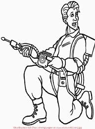 Small Picture Ghostbusters Coloring Pages For Kids And For Adults Coloring Home