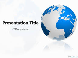 Free Geography Ppt Template Powerpoint Template Free Ppt