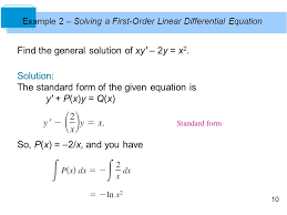 6 diffeial equations ppt