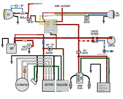 simple motorcycle wiring harness diagram indicator for choppers and simple motorcycle wiring harness diagram indicator for choppers and cafe racers schematic diagrams o wiri