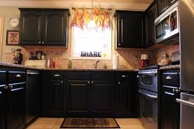 kitchens with painted black cabinets. Interesting Kitchens Innovative Fine Painting Kitchen Cabinets Black Breathtaking Painted  Before And In Kitchens With