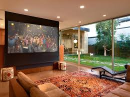 How to Install a Media Room Projector Screen