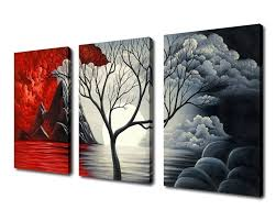 most popular extra large cloud tree abstract painting canvas prints throughout extra large wall