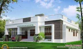 elegant single floor house design