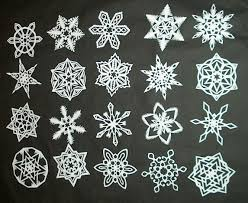Different Designs Of Snowflakes How To Make 6 Pointed Paper Snowflakes 11 Steps With