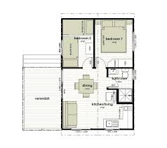cabin floor plans. Floor Plan For Two Bedroom Cabins 4, 5 And 6 (click To Enlarge) Cabin Plans R