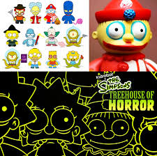 The Simpsons X Kidrobot Tree House Of Horrors Blind Boxes  OUT OF Simpsons Treehouse Of Horror Kidrobot