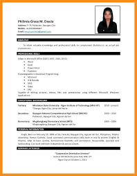 Sample Resume For Business Administration Fresh Graduate Business