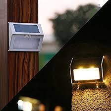 garden lights amazon. Maze Stainless Steel Solar Powered Waterproof Outdoor Step/Garden Lights Garden Amazon