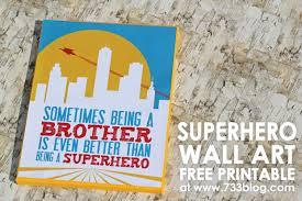 superhero canvas wall art free