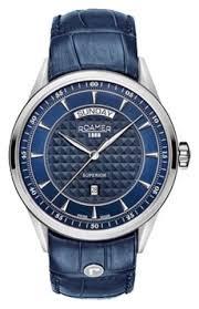 Стильные <b>мужские часы Roamer</b> 508293.41.45.05|Примерить ...