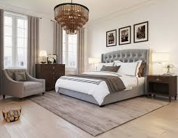 Nice 0 Gray Beige Dark Brown Bedroom Interior Design