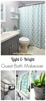 Light & Bright Guest Bathroom Makeover - The Reveal! | Small bathroom,  Happiness and Bright