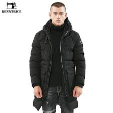 2019 kenntrice jackets men parka winter coat men long trench mens parka jacket quilted coat warm hooded jacket male army green black from goodly3128