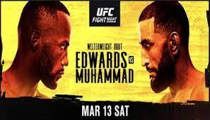 UFC Vegas 21: UFC Fight Night: Edwards ...