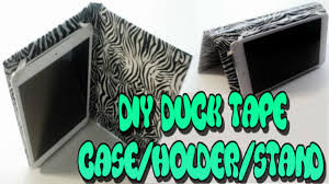 diy case holder standtutorial works for all cell phones all ipods all tablets duct tape tutorial you