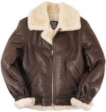 schott nyc classic b 3 sheepskin leather er jacket brown 257s