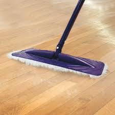 prep your floor by sweeping or dry mopping to get rid of dust and debris