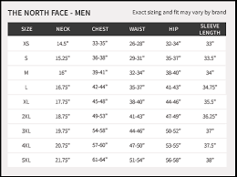 North Face Size Chart Clearance North Face Denali Jacket Sizing Chart E481a B6a3b