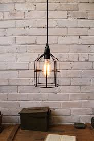 lighting cage. Pendant Cage Light In Black Used As A Ceiling Above Desk D37fff89-9014- Lighting