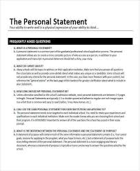 Personal Statement For College Personal Statement For Graduate School Sample Essays New Job