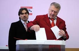 Владимир Жириновский биография фото политика личная жизнь  Владимир Жириновский на выборах