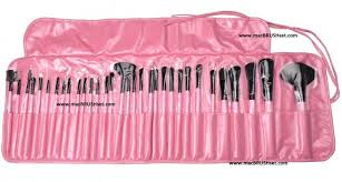 2016 professional mac brush set 32 pcs in pink you can avail great ed offers if you these makeup kits now the offer for is for a