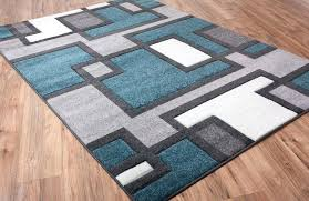 brown and teal area rugs image of geometric area rugs contemporary color teal blue and brown