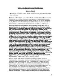 discuss the nature nurture debate essays m1 discuss the nature nurture debate in relation to the development of an individual essay m1 discuss the nature nurture discuss the nature nurture