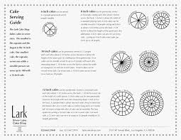 Cake Chart Party Servings Luxury Wedding Cake Serving Chart Icets Info