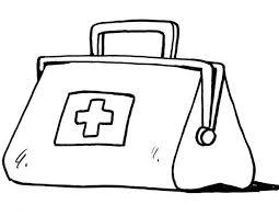 Kleurennu Medicijntas Met Hele Balangrijke Medicijnen En